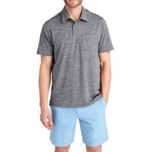 Vineyard Vines Men's Edgartown Gray Polo Shirt